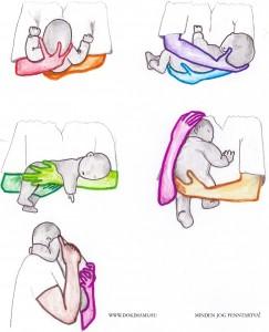 Hogyan kell a babát felvenni