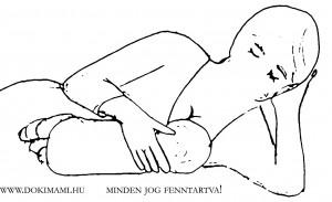 Fekve szoptatás